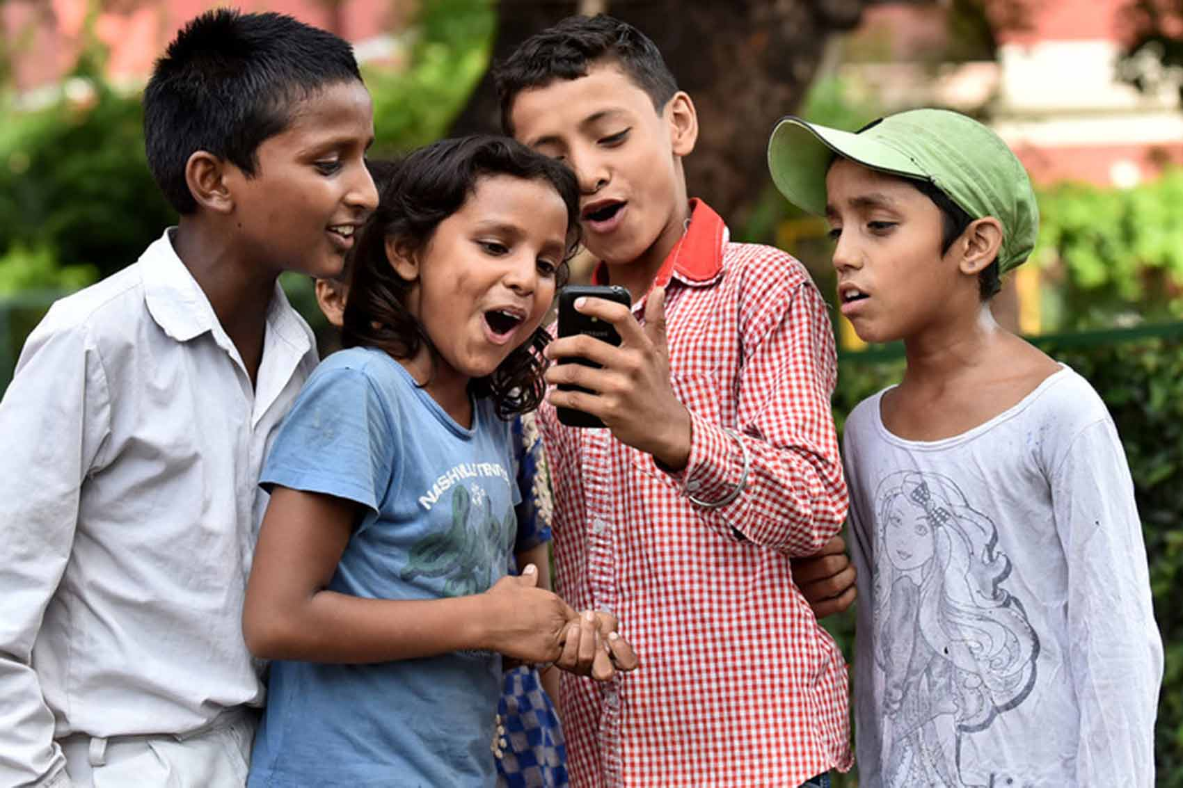 The impact of digital media on children today in India